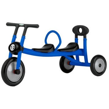 Italtrike Pilot 100 2-Seat Walker Tricycle - Blue
