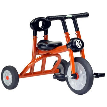 Italtrike Pilot 200 Series Orange Tricycle - Single Seat