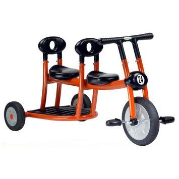 Italtrike Pilot 200 Series Orange Tricycle - Double Seat