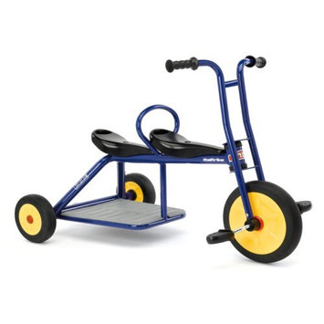 Foundations Worldwide Italtrike Carry Two Seat Tricycle, Blue - 9020ATL