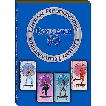 Urban Group Exercise Ltd Urban Rebounder Compilation 3 DVD