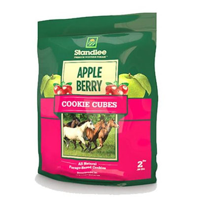 Standlee 1585-41003-0-0 Apple-Berry Cubed Treat for Horse