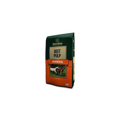 Standlee 1800-80120-0-0 Premium Beet Pulp Shreds For Horse, 25 Lb.