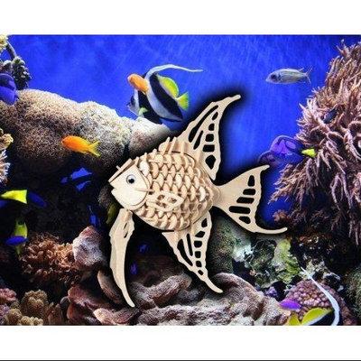 Puzzled 1201 Angel Fish 3D Puzzle - 130 Pieces