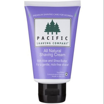 Pacific Shaving Company Women's All Natural Shaving Cream
