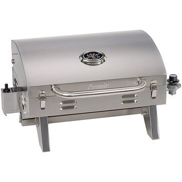 Aussie Grill. Stainless Steel Tabletop Propane Gas Grill