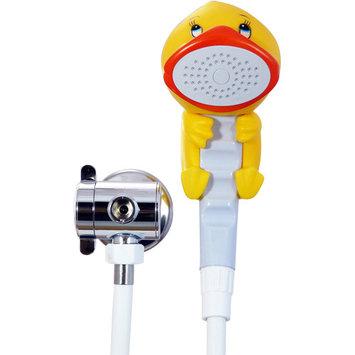 Rubber Duckie & Friends Duckie the Duck Children's Showerhead Bath & Shower Wand