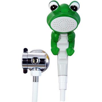 Rubber Duckie & Friends Froggie the Frog Children's Showerhead Bath & Shower Wand