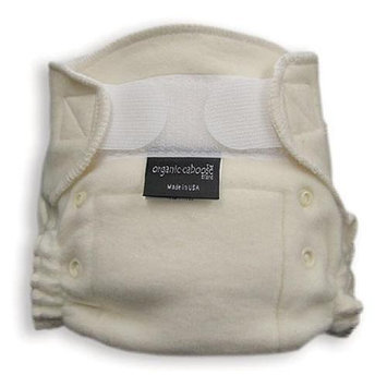 Organic Caboose 1200 Organic Aplix Fitted Diaper- Pack of 2