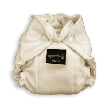 Organic Caboose 1202 Organic Newborn Snap Fitted Diaper- Pack of 2
