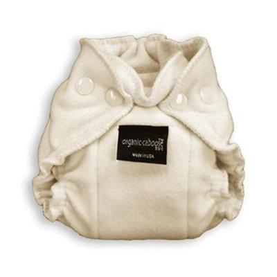 Organic Caboose 1202 Organic Newborn Snap Fitted Diaper- Pack of 2