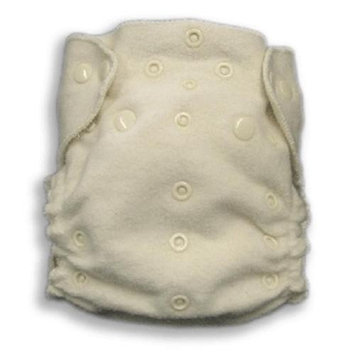 Organic Caboose 3003 Organic Cotton One-Size Fitted Cloth Diaper with Snap-in Insert
