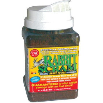 Enviro Protection Rabbit Scram Repellent Granular Shaker Can, 2.5-pound