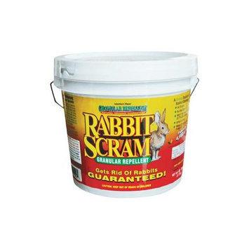 Deer Scram 6# Rabbit Scram Repellent Granular White Pail