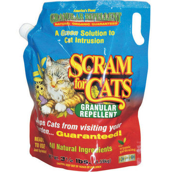 Enviro Protection Scram For Cats Shaker Bag, 3.5-pound