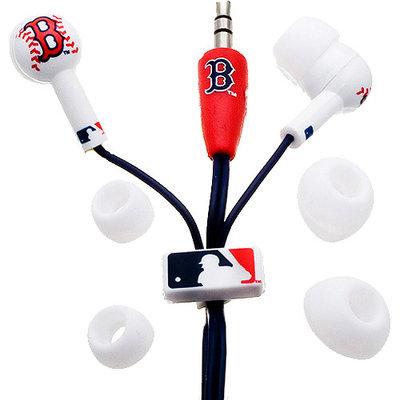 Ihip Digital Boston Red Sox MLB Logo Earbuds