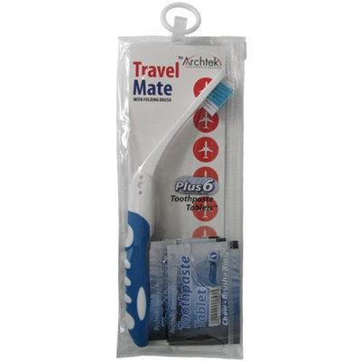 Archtek Folding Toothbrush Toothpaste Tablets For Travel 1 Ea
