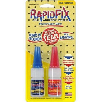 Rapid Fix RapidFix 6121728 Dual Adhesive System 10ml