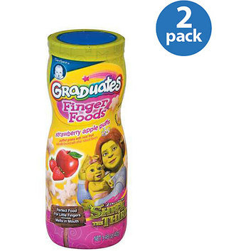 Gerber® Graduates Strawberry Apple Puffs Finger Foods