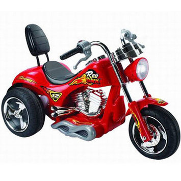 Mini Motos Red Hawk Motorcycle Battery-Operated Ride On Yellow