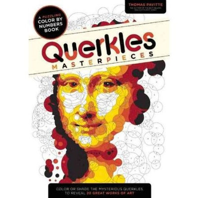 Querkles Masterpieces: A Puzzling Color-By-Number Book