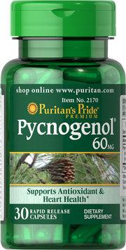 Puritan's Pride 2 Units of Pycnogenol 60 mg-30-Capsules