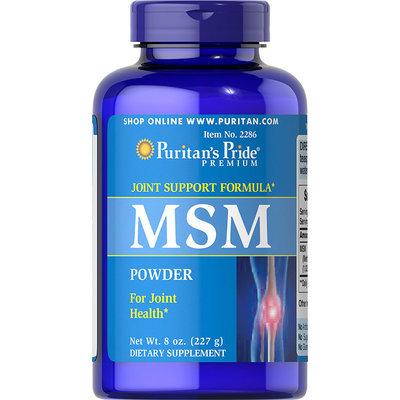 Puritan's Pride 2 Units of MSM Powder-8 oz-Powder