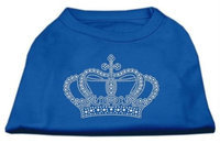 Ahi Rhinestone Crown Shirts Blue Lg (14)