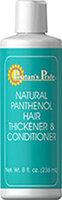 Puritan's Pride 2 Units of Panthenol Hair Thickener & Conditioner-8 fl oz-Conditioner