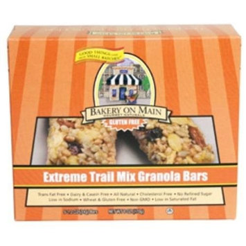 Nature's Best Bakery On Main Extreme Trail Mix Granola Bars Gluten Free, 1.2000-Ounce (Pack of 12)