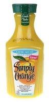 Simply Orange® Low Acid Pulp Free Orange Juice 59 fl. oz. Carafe