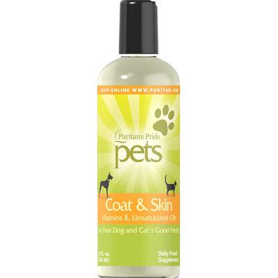 Puritan's Pride 2 Units of Coat & Skin for Pet-12 oz-Liquid