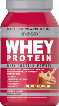 Myology Whey Protein Powder Deluxe Chocolate-2 lbs-Deluxe Chocolate-Powder