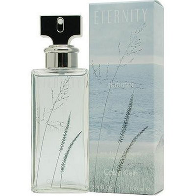Eternity Summer by Calvin Klein for Women, Eau De Toilette Spray, 2007 Limited Edition, 3.4 Ounce
