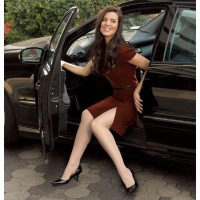 Sigvaris 120P Sheer Fashion 15-20 mmHg Pantyhose Size: D, Color: Charcoal 12
