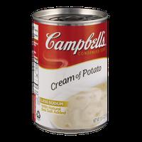 Campbell's Less Sodium Cream of Potato Condensed Soup