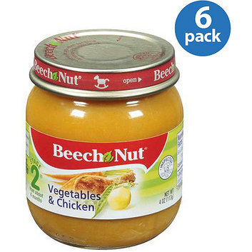 Beech-Nut Stage 2 Vegetables & Chicken Baby Food