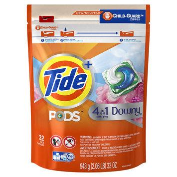 Tide® PODS™ Plus Downy® April Fresh, 32 ct.