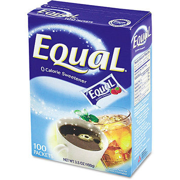 Equal 20008694 Equal Sweetener Packets 100-Box