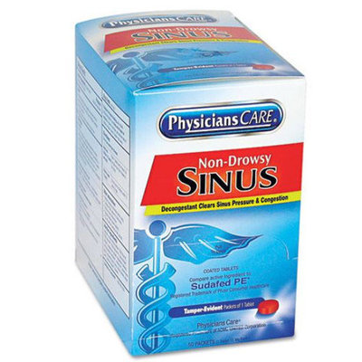Tylenol Sinus Congestion & Pain Severe Daytime Non-Drowsy CoolBurst Caplets
