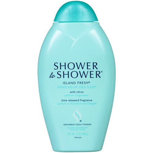 Shower To Shower Island Fresh Body Powder 13 Oz