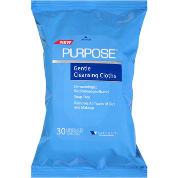Purpose Gentle Cleansing Cloths 30 Ct