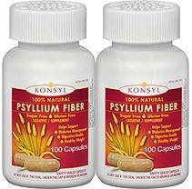 Konsyl Natural Psyllium Fiber (100 capsules, 2 pk.)