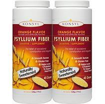 Konsyl Psyllium Fiber, Orange (538 grams - 2 pk.)