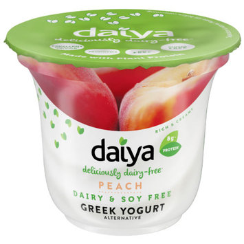 Daiya Dairy-Free Peach Greek Yogurt Alternative