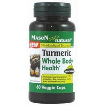 Mason Natural, Tumeric, 60 Capsules