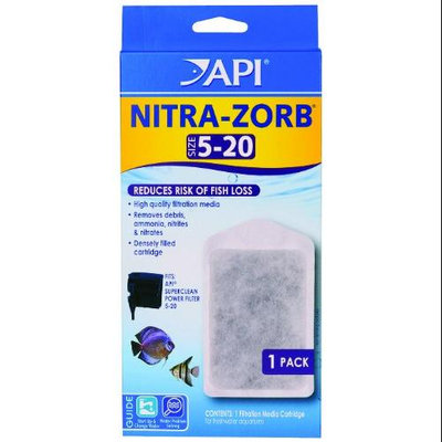 API Nitra-Zorb for SuperClean Power Filter: Size 5-20