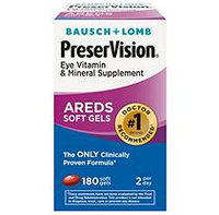 Bausch & Lomb Eye Vitamin Supplement-180ct