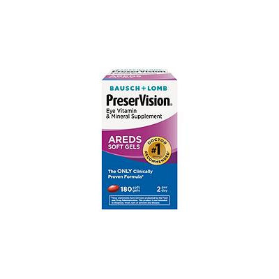 Bausch & Lomb Eye Vitamin Supplement-180ct