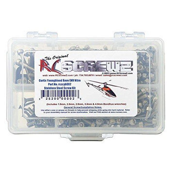 RC SCREWZ CYB002 C Youngblood Rave ENV Nitro SS Screw Kit RCZE8002 RC Screwz